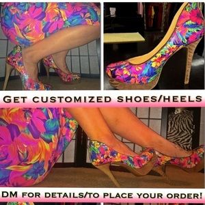 Shoes - Custom order shoe design! First 5 orders 50% off!